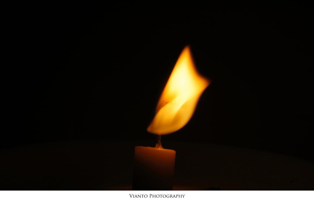 Candle III - Modigliani 1884 by Vianto