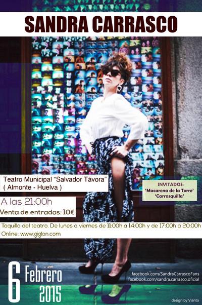 Sandra Carrasco 6 Febrero 2015 by Vianto