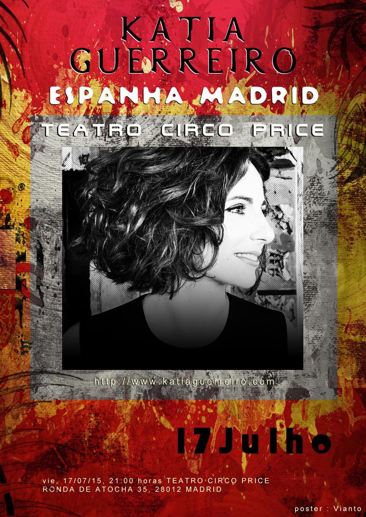 Katia Guerreiro Espanha - Madrid 17Julho by Vianto
