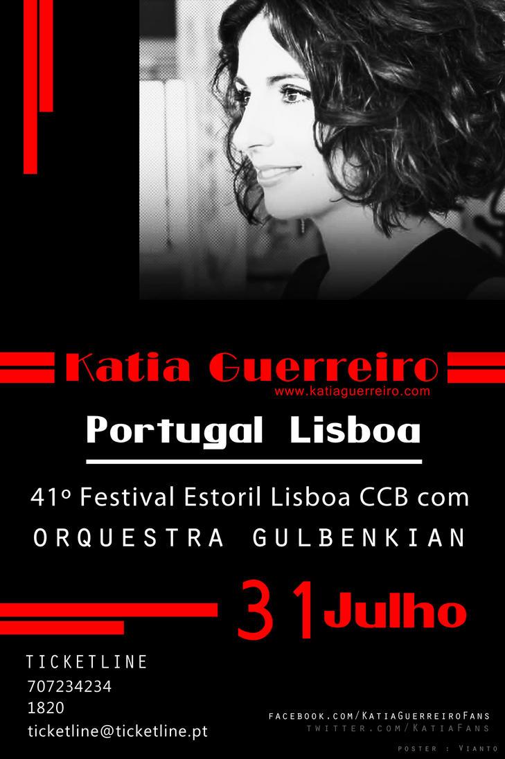 Katia Guerreiro 31 Julho by Vianto