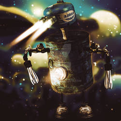 i-Robot blue by Vianto