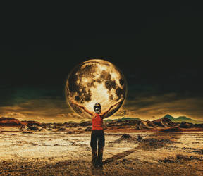 In Front Of The Moon II