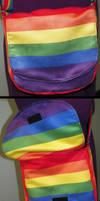 Rainbow Satchel