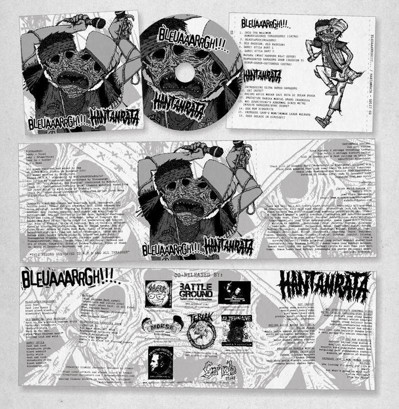 Bleuaaarrgh + HR CD layout by tremorizer