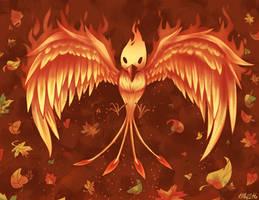 C - The Phoenix Rises by Kaibuzetta