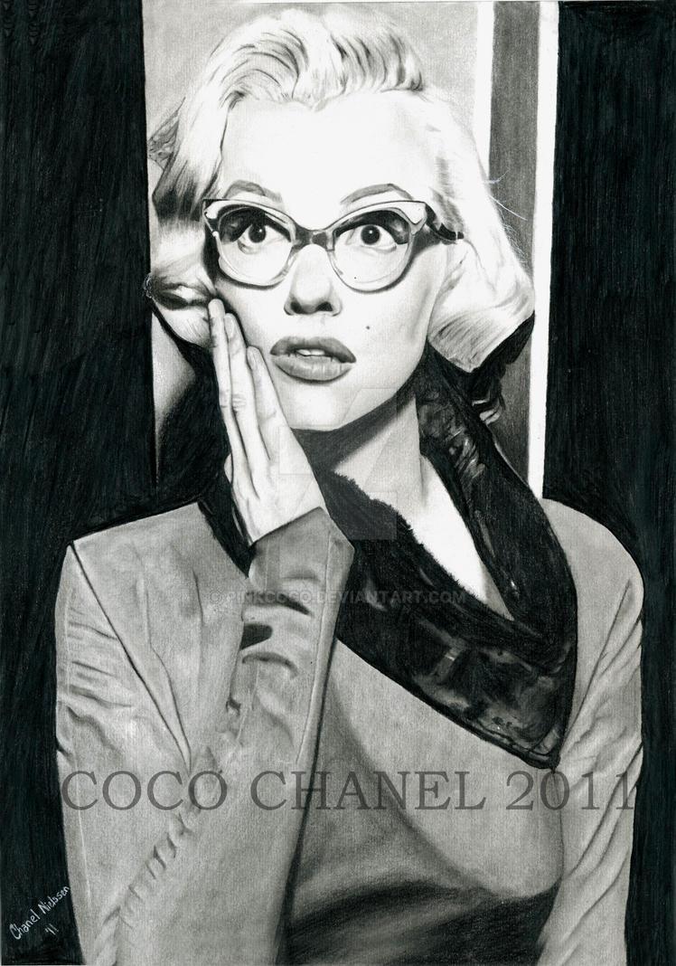 Marilyn Monroe by Pinkcoco