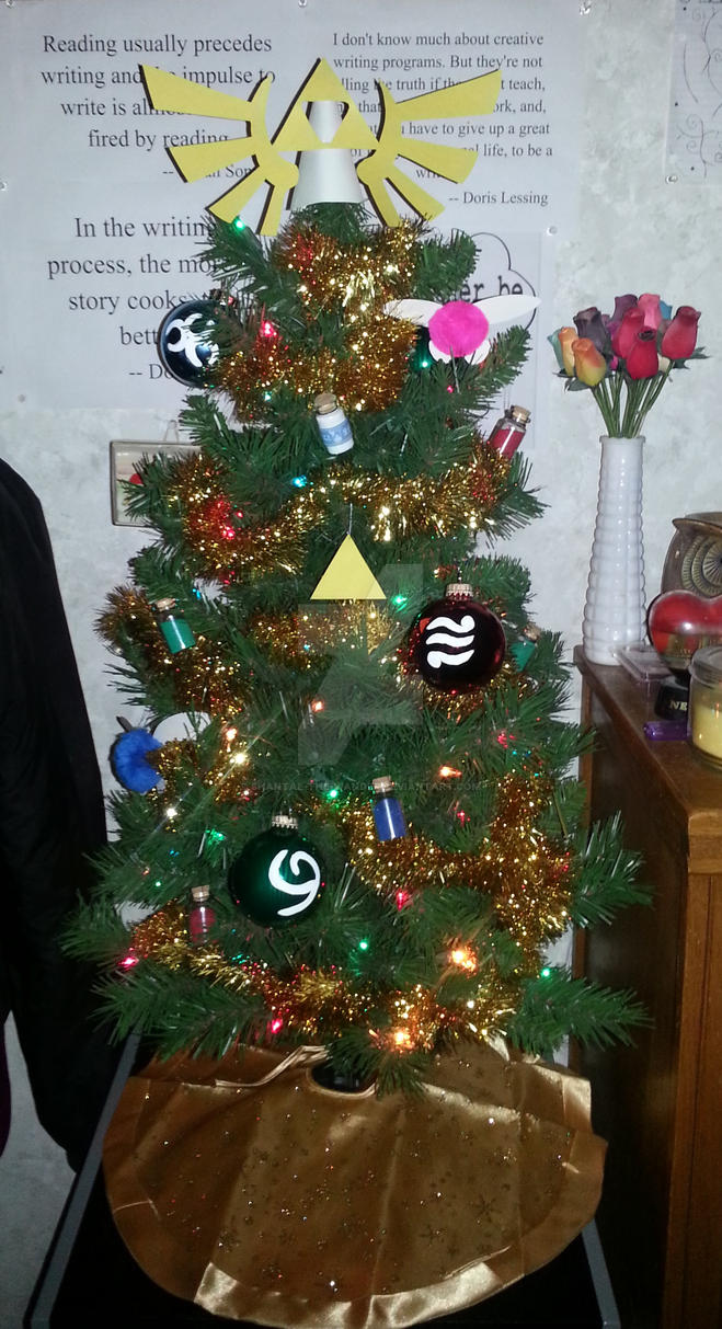Legend of Zelda Christmas Tree by Shantae-the-wander on DeviantArt