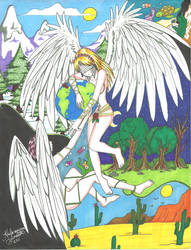 Guardiana de la Tierra by RenjisBabySister