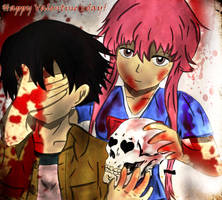 Mirai Nikki - Bloody Valentine's day - for contest