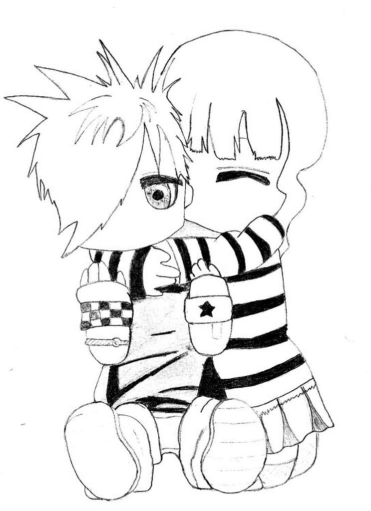 Emos tristes para dibujar - Imagui