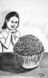 Brigadeiro: 5th illustration for my book