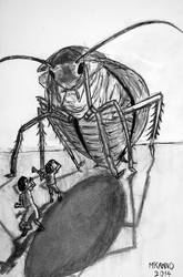 Cockroach: 10th illustration for my novel