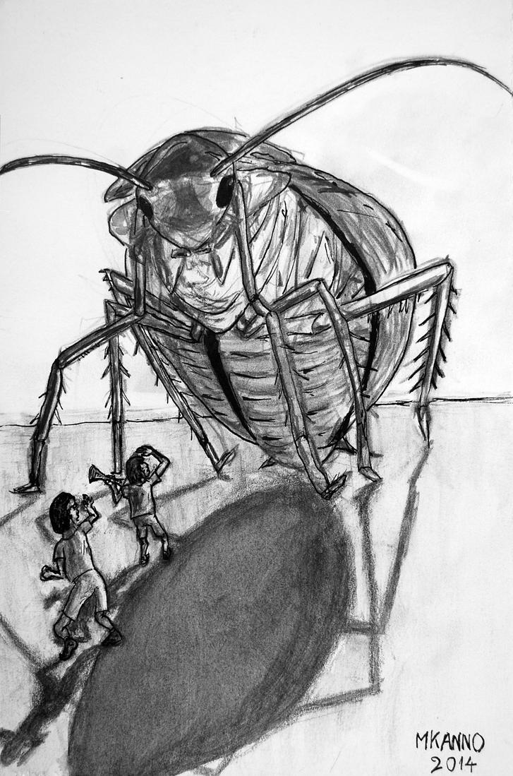 Cockroach: 10th illustration for my novel by MauricioKanno