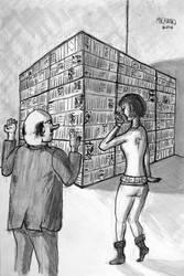 Books: 11st illustration for my novel