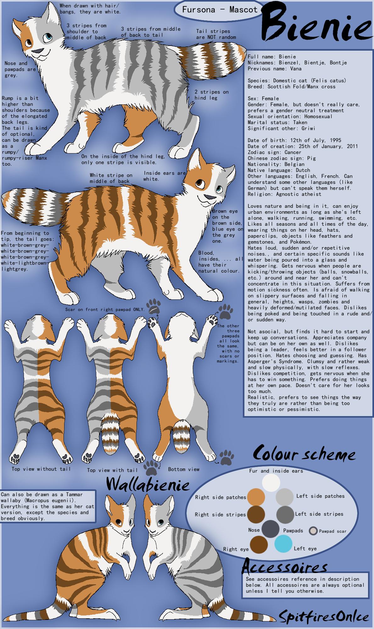Bienie Reference Sheet 5