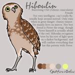 Hiboulin reference sheet by SpitfiresOnIce