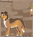 Franceska Reference Sheet by SpitfiresOnIce