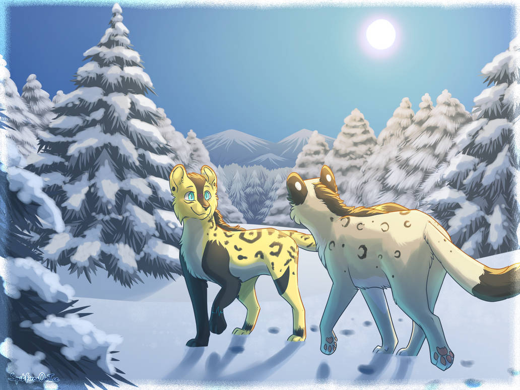 Walking In A Winter Wonderland by SpitfiresOnIce