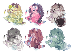 Baby Werewoof Adopts (Closed) by LunarAdopts