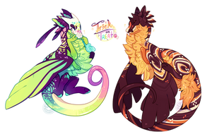 Cursed Skies GA Event ~ Trick or Treat (Closed) by LunarAdopts