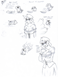 Piglets and Wench Doodles 2