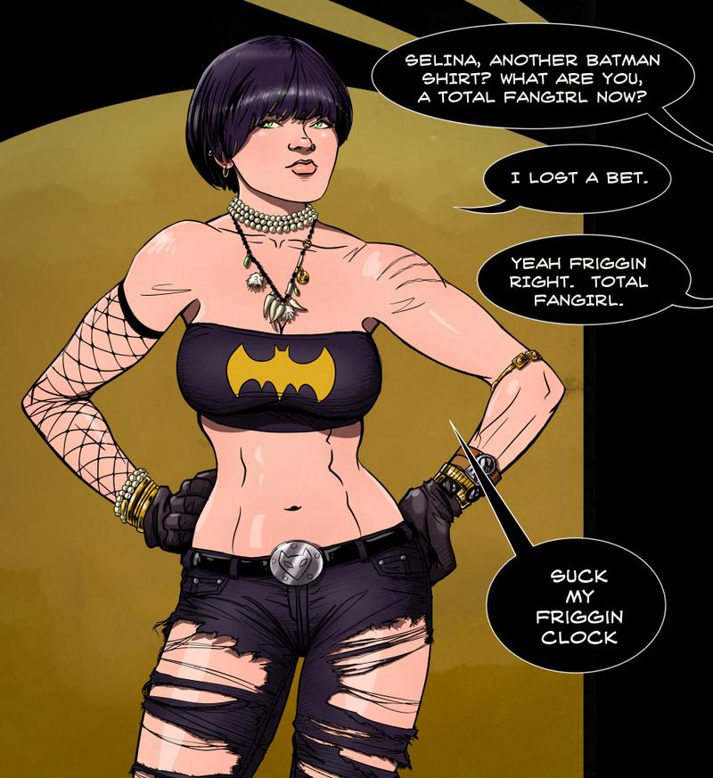 Selina Kyle Batman Shirt