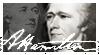 Alexander Hamilton Stamp by elavoria