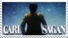 Carl Sagan Stamp by elavoria