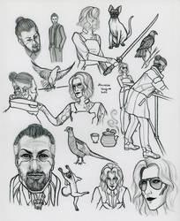 cp2077 sketch page
