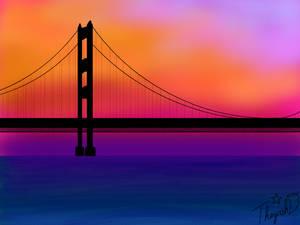 mackinac Bridge by Cutiecat1001
