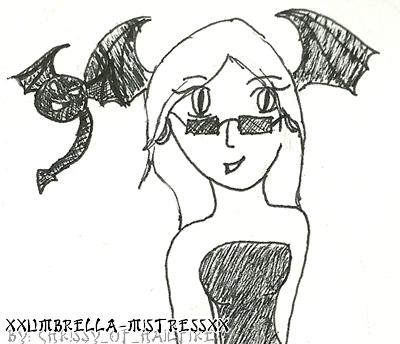 Gaia: xXUmbrella-MistressXx by hailfire