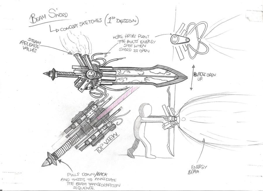The Mechanical Sword by Ichidann