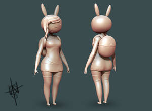 Fionna - Adventure Time WIP 2