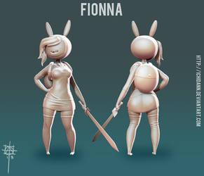 Fionna - WIP 4