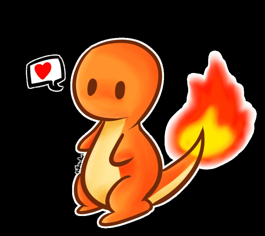 how to draw cute charmander