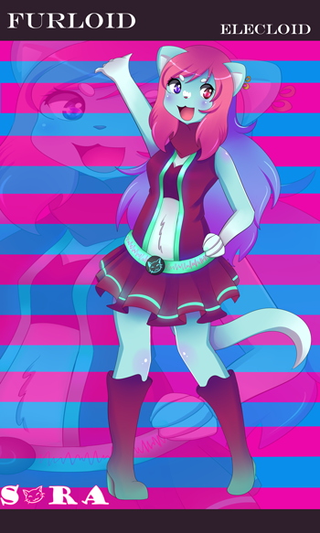 Utau : Sora Voicebank release by the-electric-mage
