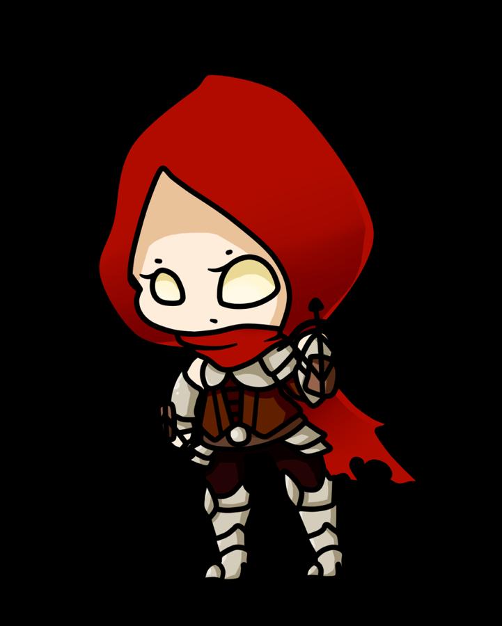 Chibi Demon Hunter by xNekorux