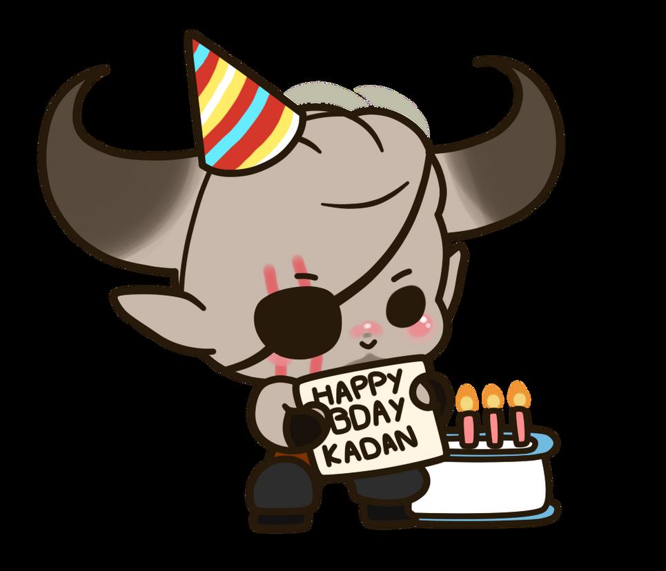 Iron Bull - Happy Birthday Kadan! by xNekorux