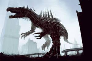 Spinosaurus Dinobot
