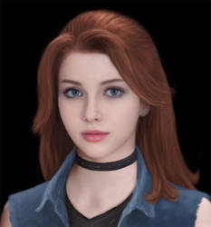 Stardew Valley Realistic Abigail (Natural Hair)