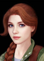 Stardew Valley Realistic Leah
