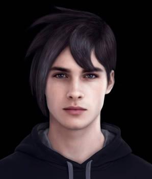Stardew Valley Realistic Sebastian