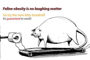 Feline Obesity by Garz2000