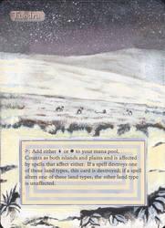 MtG: Altered Card Art 1:Tundra