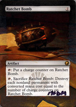 MtG: Altered Ratchet Bomb