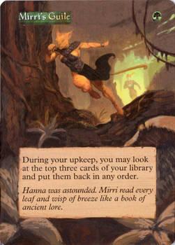 MtG:Altered Mirri's Guile
