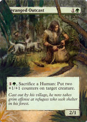 MtG: Altered Card Art: Deranged Outcast