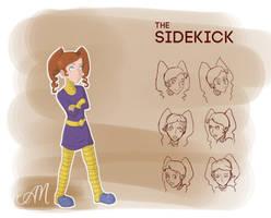 Character Design: Sidekick by ticklishoctopus