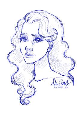 Pretty Eyes Sketch