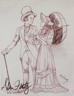 Figure Drawing Practice - Cute Couple